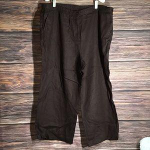 Brown pants 18w